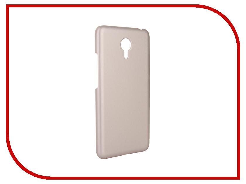 Аксессуар Чехол Meizu M3 Note Pulsar Clipcase PC Soft-Touch Gold PCC0203
