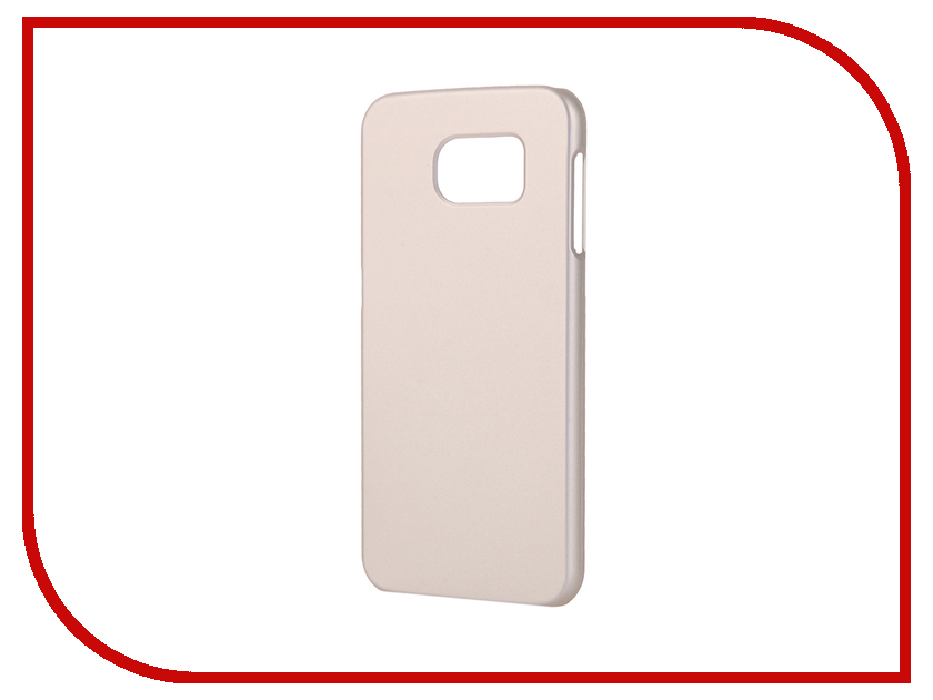 Аксессуар Чехол-накладка Samsung G920F Galaxy S6 Pulsar Clipcase PC Soft-Touch Gold PCC0200<br>