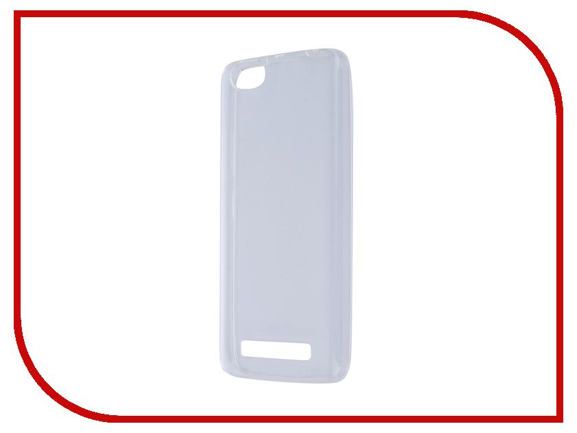 Аксессуар Чехол Lenovo Vibe C A2020 Pulsar Clipcase Transparent PTC0118
