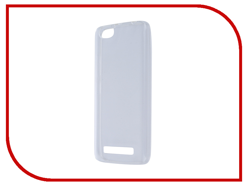 Аксессуар Чехол Lenovo Vibe C A2020 Pulsar Clipcase Transparent PTC0118<br>