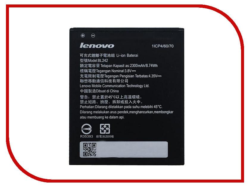 Аксессуар Аккумулятор Lenovo BL242 Partner 2300mAh ПР034374<br>