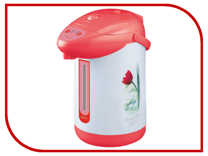 Термопот Sakura SA-353WR White-Red электробритва sakura sa 5410w