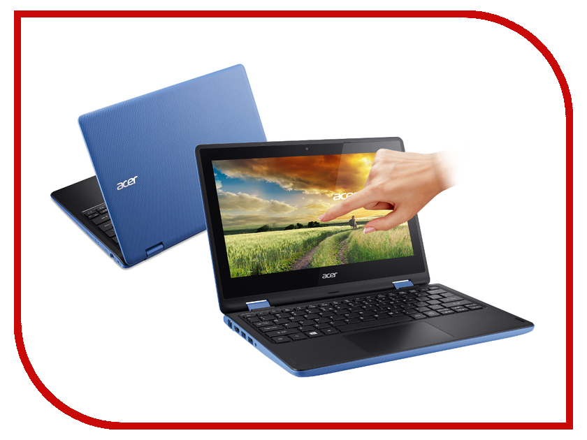 Ноутбук Acer Aspire R3-131T-C0K2 NX.G0YER.009 Intel Celeron N3050 1.6 GHz/4096Mb/500Gb/No ODD/Intel HD Graphics/Wi-Fi/Bluetooth/Cam/11.6/1366x768/Touchscreen/Windows 10 64-bit<br>