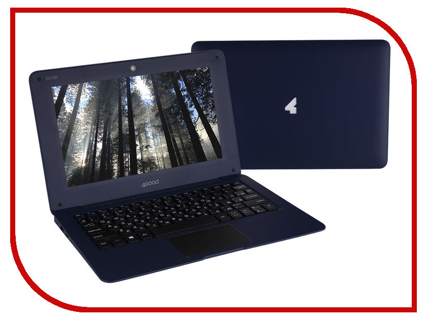 Ноутбук 4Good CL100 (Intel Atom Z3735F 1.3 GHz/2048Mb/32Gb/Intel HD Graphics/Wi-Fi/Bluetooth/Cam/10/1024x600/Windows 10)