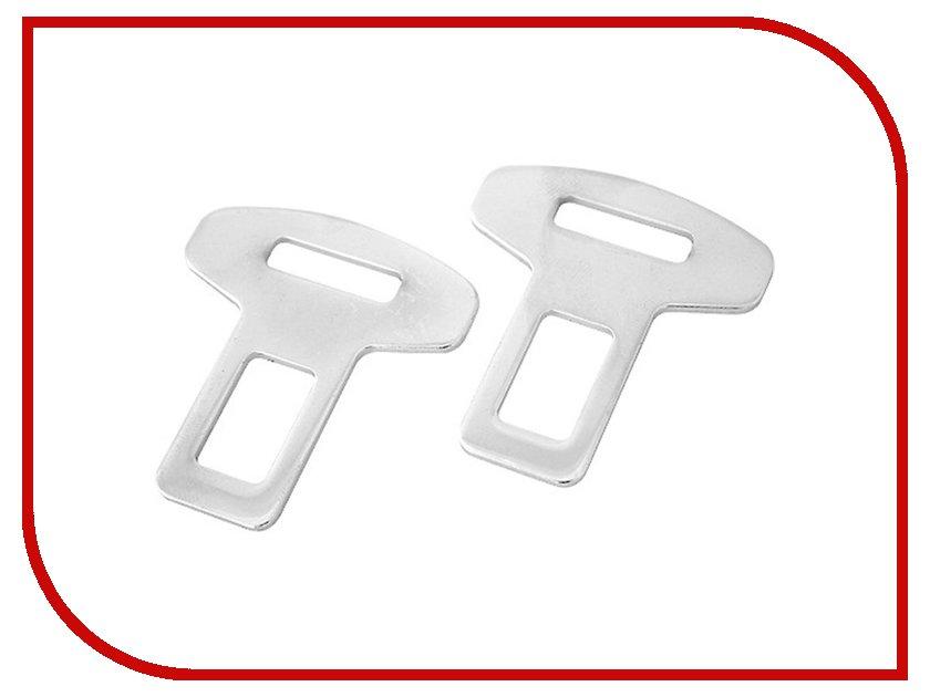 Аксессуар AutoStandart 106230 2шт - заглушка замка ремня безопасности универсальная металлическая