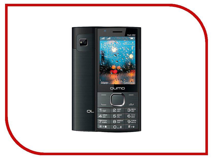 купить Сотовый телефон Qumo Push 282 Black недорого