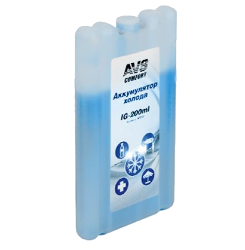 Аккумулятор холода AVS IG-200ml 80707 bingerui korea 200ml 6