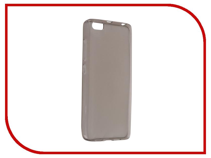 ��������� �����-�������� Xiaomi Mi5 Krutoff Transparent-Black 11751