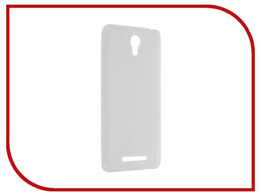 где купить Аксессуар Чехол-накладка Xiaomi Redmi Note 2 Krutoff Transparent 11752 дешево