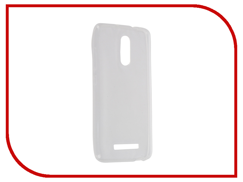 Аксессуар Чехол-накладка Xiaomi Redmi Note 3 Krutoff Transparent 11754 аксессуар чехол xiaomi redmi 1s krutoff silicone transparent black 10289