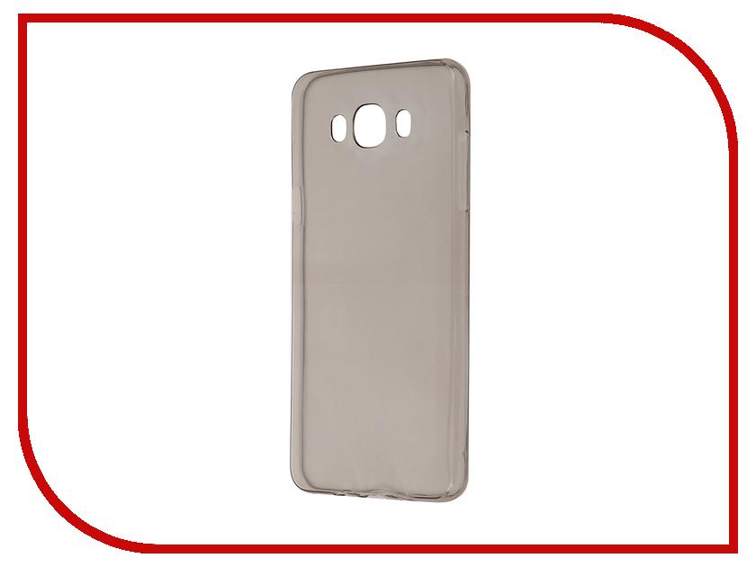 Аксессуар Чехол-накладка Samsung Galaxy J7 SM-J700 Krutoff Transparent-Black 11704<br>