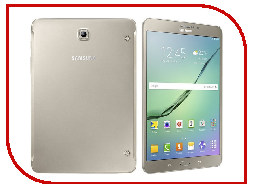 Планшет Samsung SM-T713 Galaxy Tab S2 8.0 - 32Gb Wi-Fi Gold SM-T713NZDESER Samsung Exynos 5433 1.9 GHz/3072Mb/32Gb/Wi-Fi/Bluetooth/GPS/Cam/8.0/2048x1536/Android