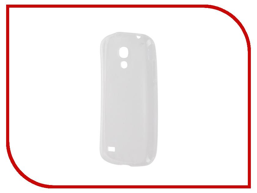 Аксессуар Чехол-накладка Samsung Galaxy S4 mini i9190 Krutoff Transparent 11501
