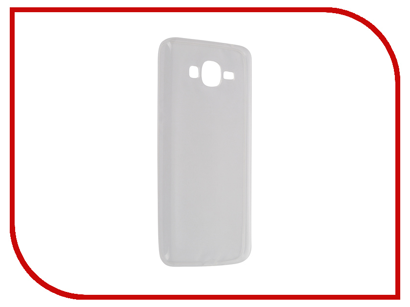 Аксессуар Чехол-накладка Samsung Galaxy Grand Prime SM-G530H Krutoff Transparent 11479<br>