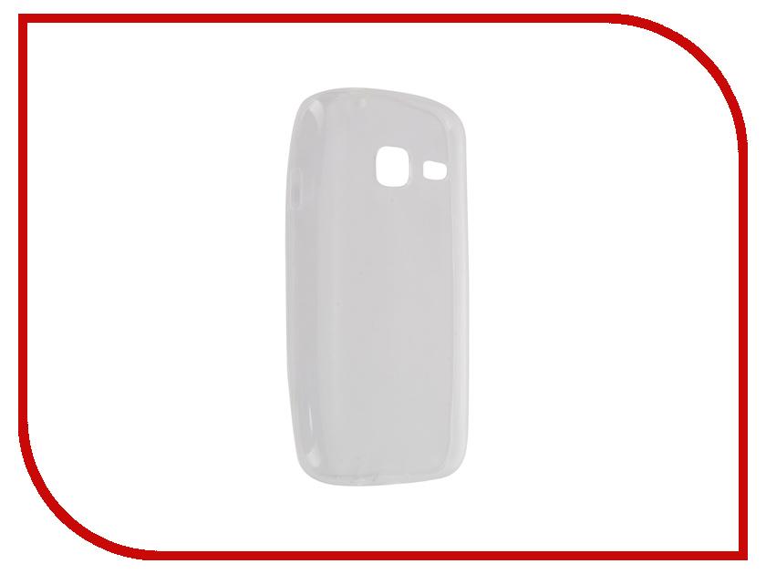 Аксессуар Чехол-накладка Samsung Galaxy J1 mini SM-J105H Krutoff Transparent 11742 аксессуар чехол samsung sm j105h galaxy j1 mini 2016 aksberry black