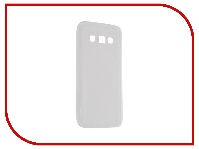 Аксессуар Чехол-накладка Samsung Galaxy A3 SM-A300F Krutoff Transparent 11511 аксессуар чехол накладка samsung galaxy a3 2017 skinbox silicone chrome border 4people silver t s sga32017 008