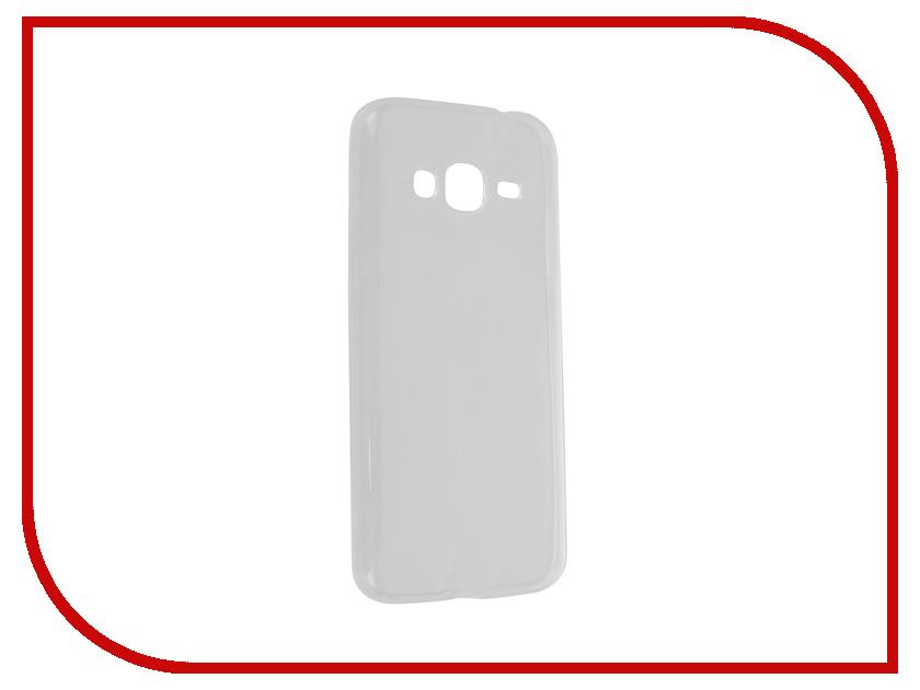 Аксессуар Чехол-накладка Samsung Galaxy J3 2016 SM-J320 Krutoff Transparent 11769<br>