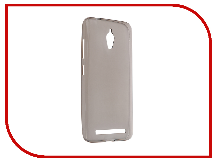 все цены на Аксессуар Чехол-накладка ASUS ZenFone Go ZC500TG Krutoff Transparent-Black 11584