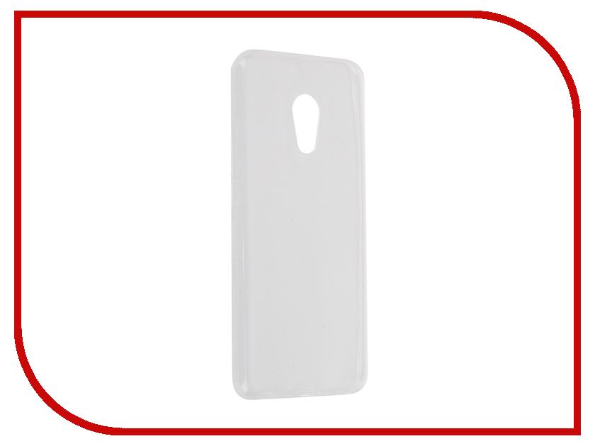 Аксессуар Чехол-накладка Meizu MX6 Krutoff Transparent 11760