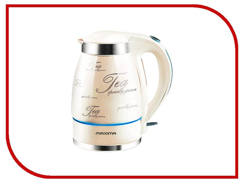 Чайник Maxima MK-C351 White Tea наборы для вышивания galla collection набор для вышивания бисером святой евгений 13х16 см