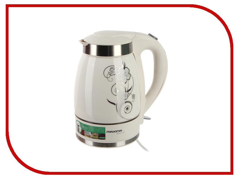 Чайник Maxima MK-C351 White Цветы<br>