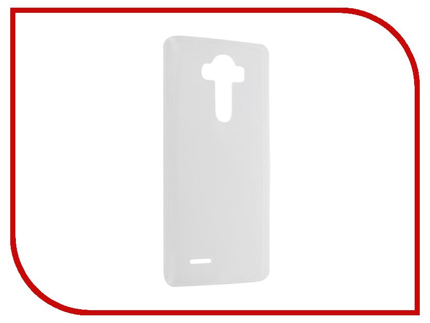 Аксессуар Чехол-накладка LG G4 Krutoff Transparent 11764<br>