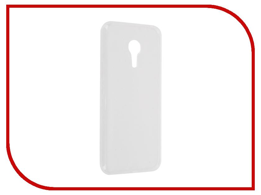 Аксессуар Чехол-накладка Meizu MX5 Pro Krutoff Transparent 11771