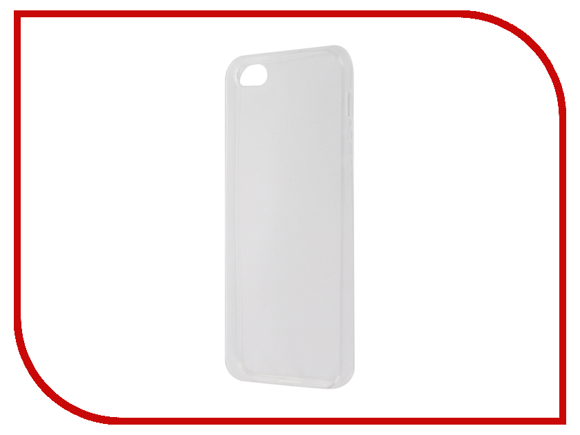 Аксессуар Чехол-накладка Krutoff для APPLE iPhone 5 / 5S / SE Transparent 10670