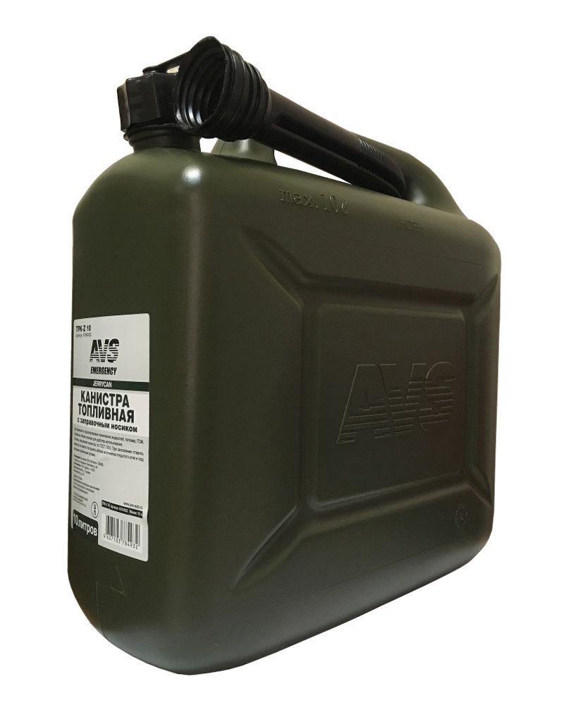 Канистра AVS TPK-Z 10 10L Dark Green A78493S