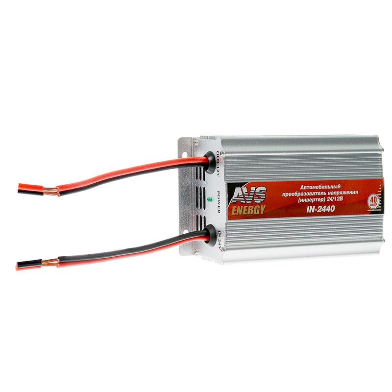 Автоинвертор AVS IN-2440 (40A) с 24В на 12В 43899