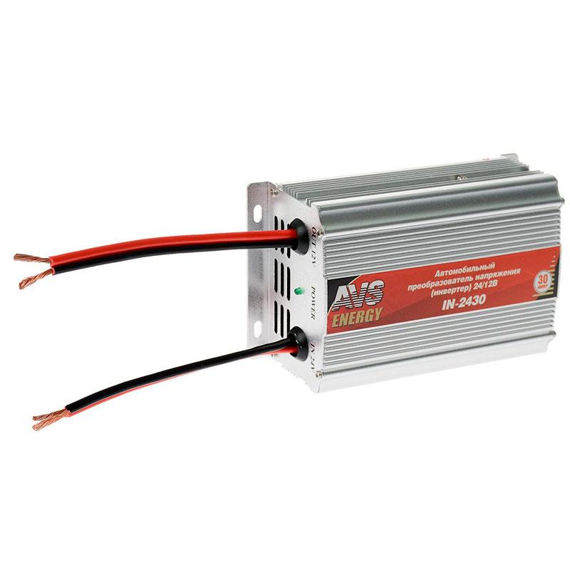 Автоинвертор AVS IN-2430 (30A) с 24В на 12В 43898