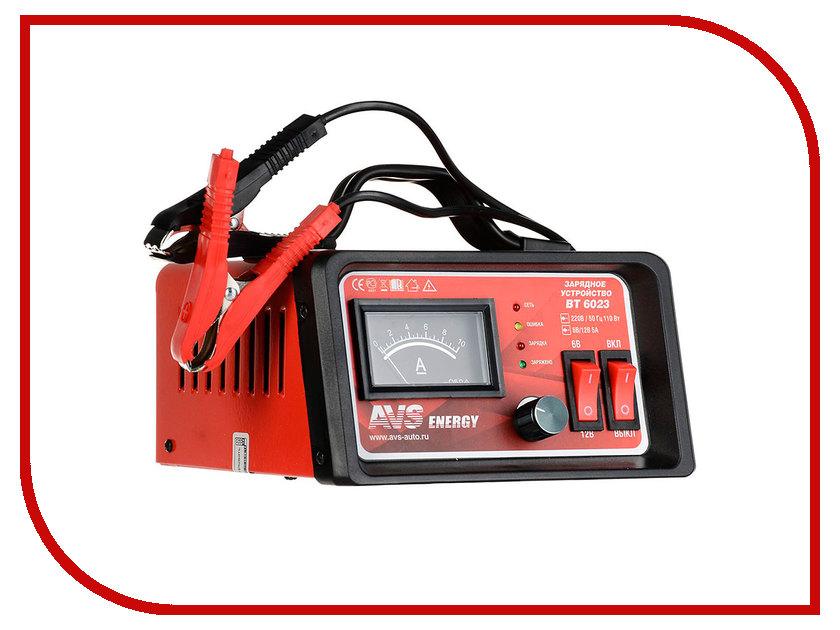 Зарядное устройство для автомобильных аккумуляторов AVS BT-6023 A80908S<br>