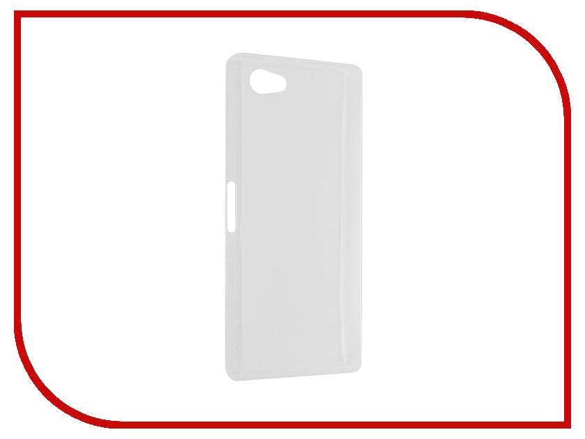 Аксессуар Чехол-накладка Sony Z5 Compact Transparent Apollo 11746
