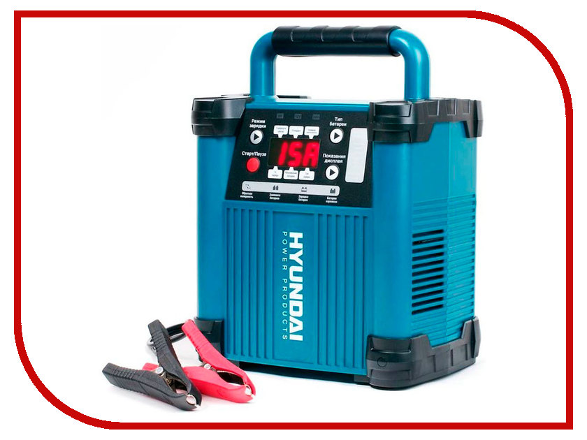 Зарядное устройство для автомобильных аккумуляторов Hyundai HY 1500<br>