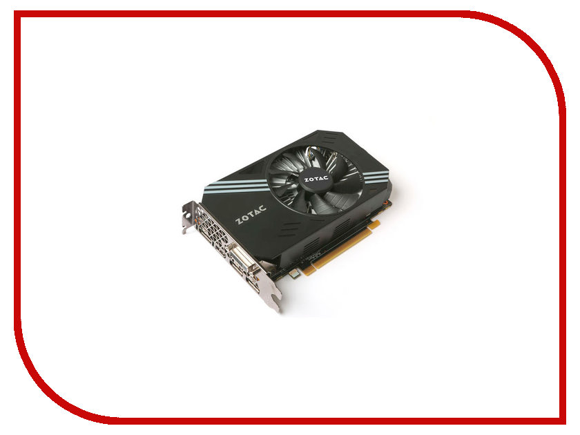 Видеокарта Zotac GeForce GTX 1060 1506Mhz PCI-E 3.0 6144Mb 8000Mhz 192 bit DVI HDMI HDCP ZT-P10600A-10L