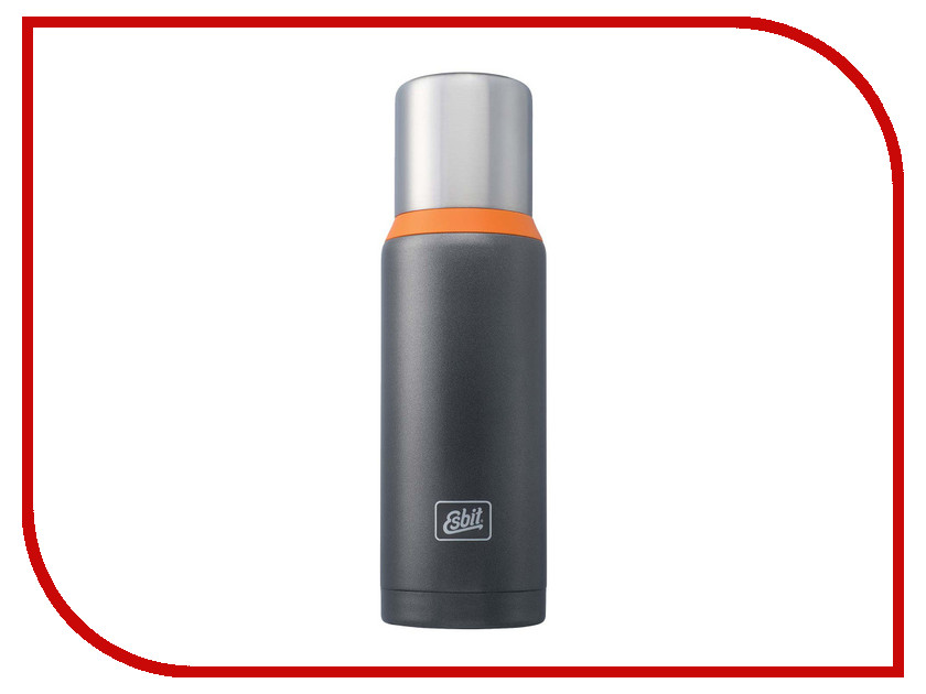 Термос Esbit 1L R38491 Dark Grey-Orange VF1000DW-GO<br>
