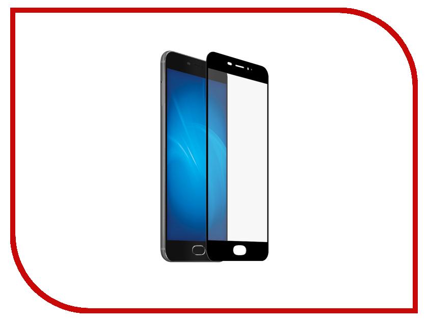 Аксессуар Защитное стекло Meizu PRO 6 CaseGuru Full Screen 0.3mm Black 87012