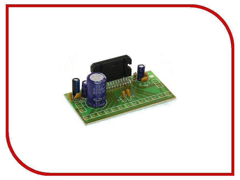Игрушка Конструктор Радио КИТ RS215E - четырёхканальный УНЧ 4х30 Вт на микросхеме TDA7383<br>