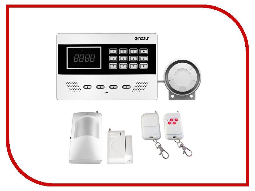 Сигнализация Ginzzu HS-K11W GSM 315 мгц беспроводная gsm главная охранной охранная сигнализация автоматический номеронабиратель смс сим позвоните нам затыкают