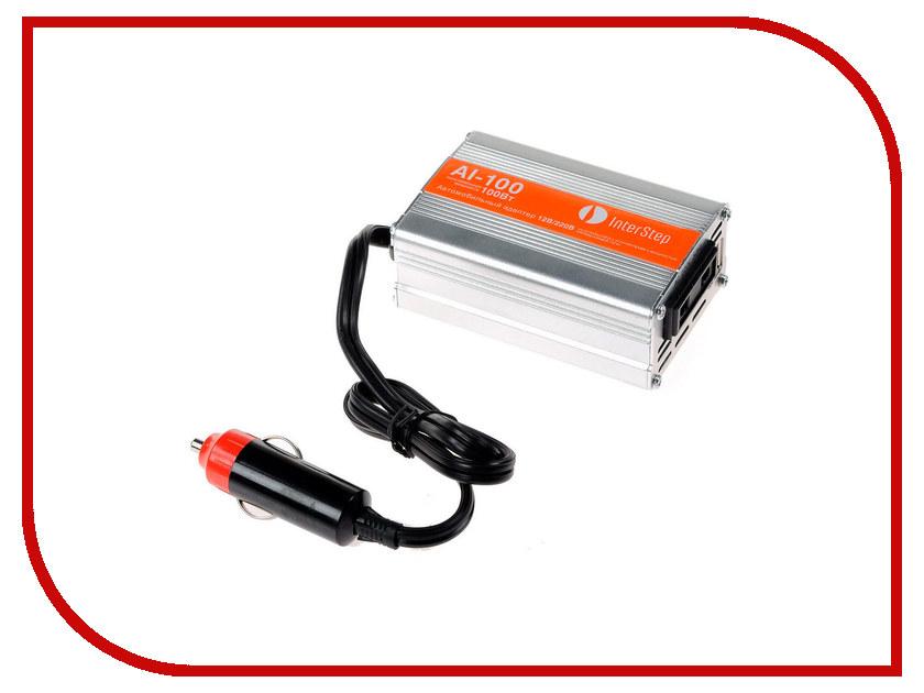 Автоинвертор InterStep 12-220В 100Вт AI-100 IS-CC-ADAP100AS-000B201 15566