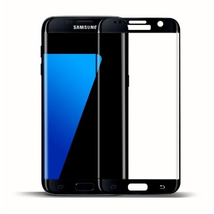 Аксессуар Защитное стекло для Samsung Galaxy S7 Edge CaseGuru 3D 0.3mm Black 87008 аксессуар защитное стекло fst ag5 c3 для canon 6d markii