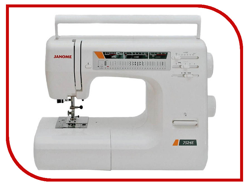 Швейная машинка Janome 7524Е швейная машинка janome dc 2030