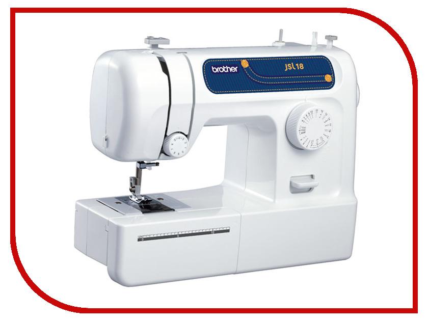 Швейная машинка Brother JSL-18 White<br>