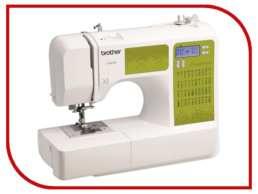 Швейная машинка Brother ModerN 40E White швейная машинка brother lx 700