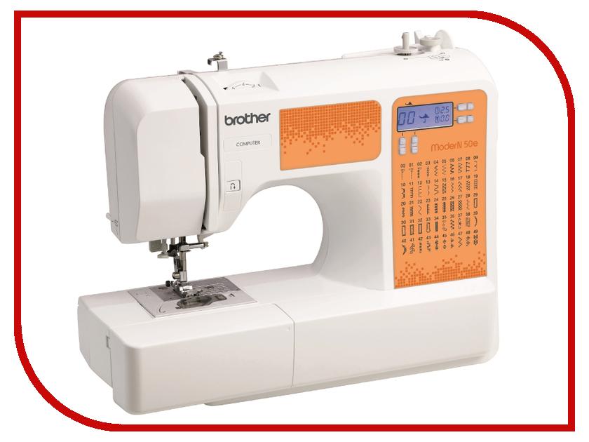 где купить Швейная машинка Brother ModerN 50E White дешево