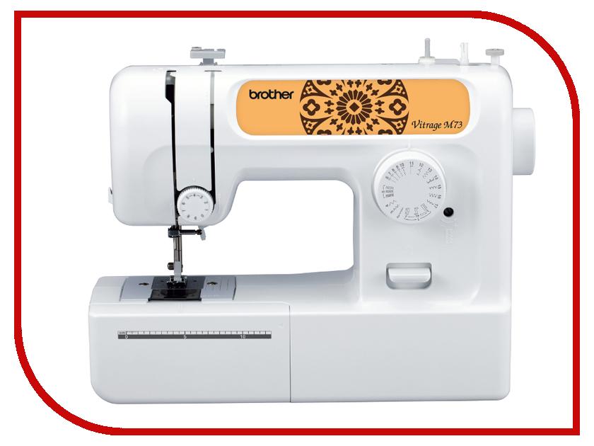 Швейная машинка Brother Vitrage M73 White