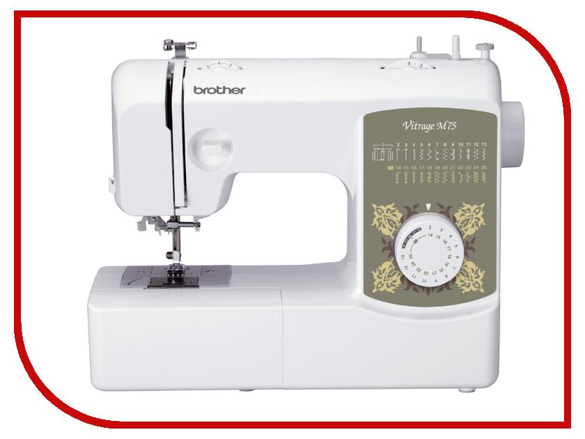 Швейная машинка Brother Vitrage M75 White