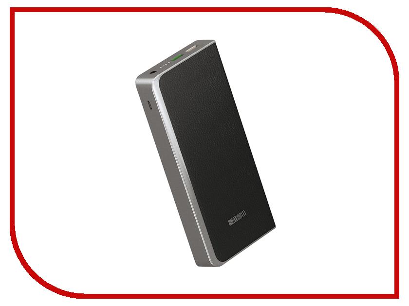 Аккумулятор InterStep PB12000QC Quick Charge 12000mAh Black IS-AK-PB1200QCB-000B201 45805<br>