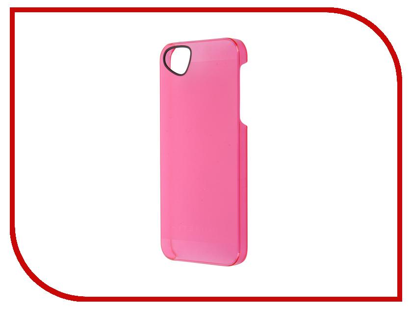 Аксессуар Чехол-накладка Itskins для iPhone 5/5s The new Ghost + пленка Pink 047010563<br>