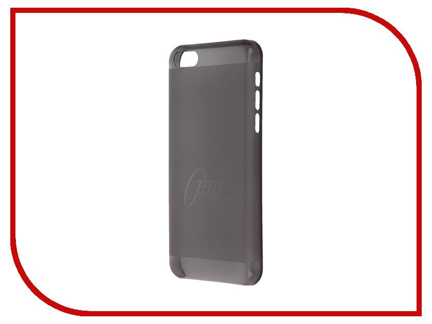 Аксессуар Чехол-накладка Itskins для iPhone 5C ZERO.3 + пленка Black 572610596